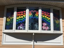Hearts of Hope Window
